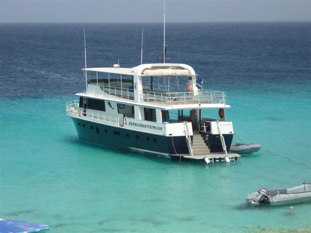 De Mermaid-Boottocht Klein Curacao