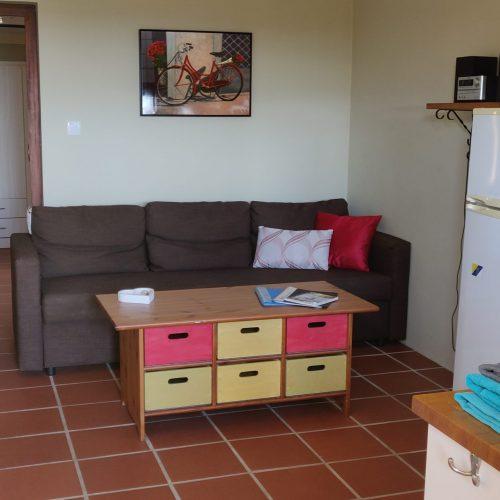 Kamer en keuken appartement Moonlight