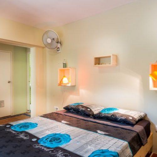 Slaapkamer appartement Moonlight